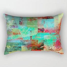banging on the door Rectangular Pillow