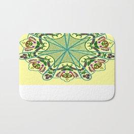 Mandala in florals Bath Mat