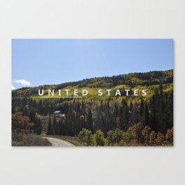 Unite the States Canvas Print
