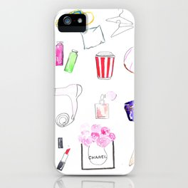 Morning, Beauty iPhone Case