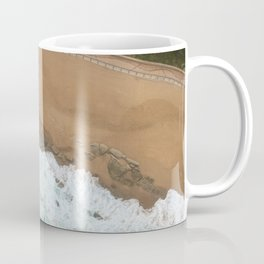 Indian Ocean from above Coffee Mug
