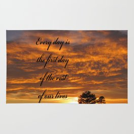 Forever Quote Rug