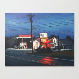B&M Market Canvas Print
