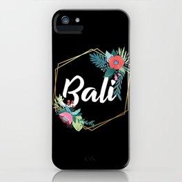 Bali iPhone Case