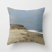 San Onofre Throw Pillow