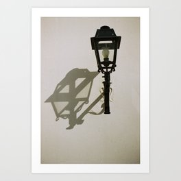 la lumiére Art Print