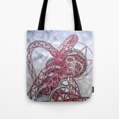 The Arcelormittal Orbit  Tote Bag