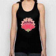 flat flowers - pattern Unisex Tank Top