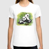 pandas T-shirts featuring Pandas by Lisidza's art