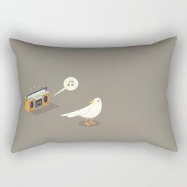 Bird music  Rectangular Pillow
