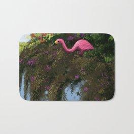 Speedpaint - Shady Flamingo Bath Mat