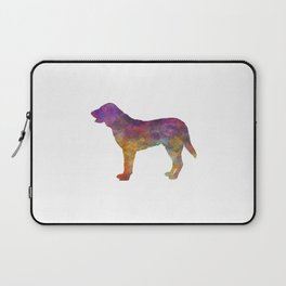Castro Laboreiro Dog in watercolor Laptop Sleeve