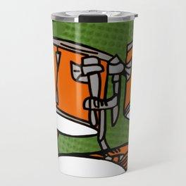 T-Rex Drummer Travel Mug