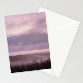 Pink Morning Mist In Sweden Stationery Cards