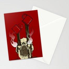 Skull Fuel Stationery Cards
