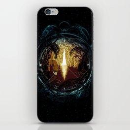 Cavern Ship Compass iPhone Skin