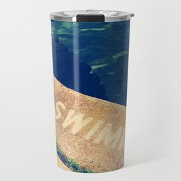 No Swimming Travel Mug