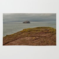 bass Area & Throw Rugs featuring Bass Rock by Best Light Images