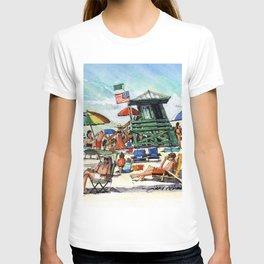 The Green Lifeguard Stand, Siesta Key T-shirt