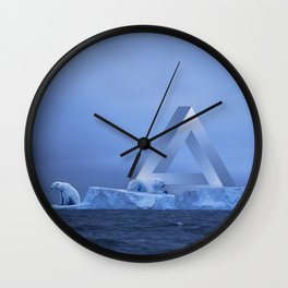 Polar Life Wall Clock