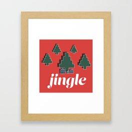 Jingle Framed Art Print