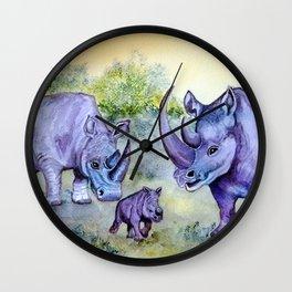 Steady Little One Wall Clock