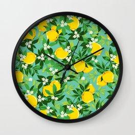 Lemon Design Wall Clock