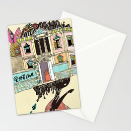 THE GIRL'S HAT Stationery Cards