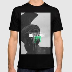 Oblivion Mens Fitted Tee LARGE Black