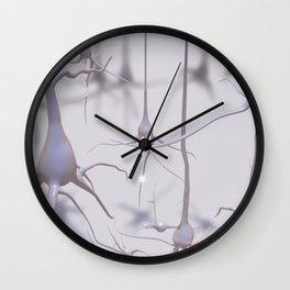 Neuron forest Wall Clock