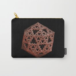 3D Fractal Icosahedron Carry-All Pouch