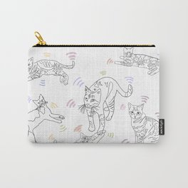 Wifi Cats Carry-All Pouch
