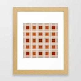 Ambient 11 Squares Framed Art Print