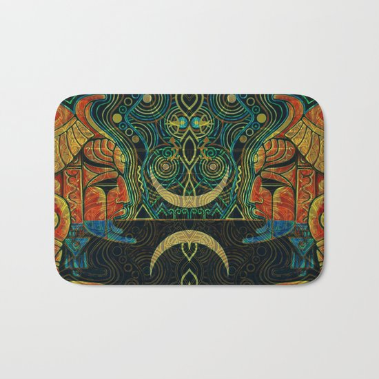 They Who Drink Chaos Bath Mat