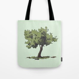 Life is Beautiful Olive Tree Tote Bag