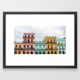 The Colors Of Cuba Framed Art Print