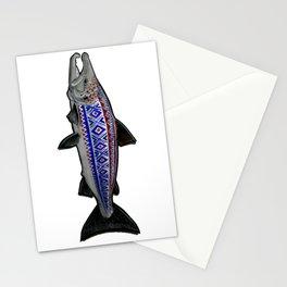 Marius Salmon Stationery Cards