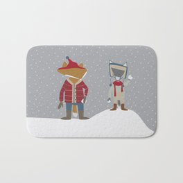Snow Day Bath Mat