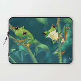 I love Being Green! Laptop Sleeve