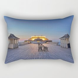 Pavilion Theatre Cromer Pier Rectangular Pillow