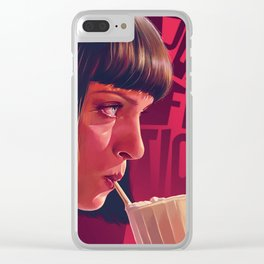 Pulp Fiction Clear iPhone Case