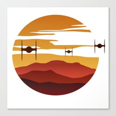 To the sunset Canvas Print