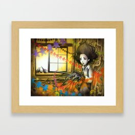 Delight in Paper Chains Framed Art Print