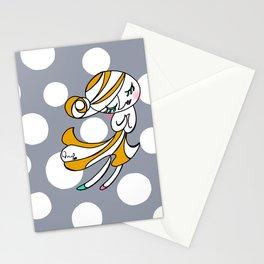 Dot girl Stationery Cards