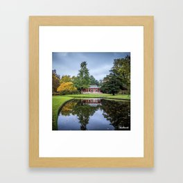 Surrounded by Autumn Framed Art Print