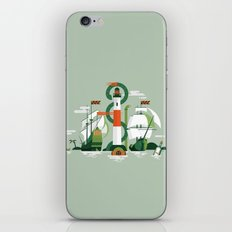 Sea of Adventure iPhone & iPod Skin