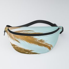 Tropical Sun Palm Tree Fanny Pack