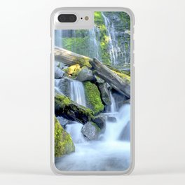 Waterfall - Proxy Falls Clear iPhone Case