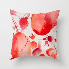 Pink Study Throw Pillow