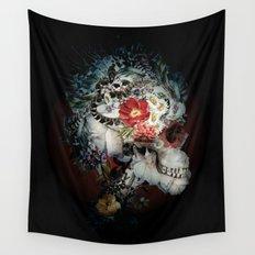 Skull I Black Series Wall Tapestry